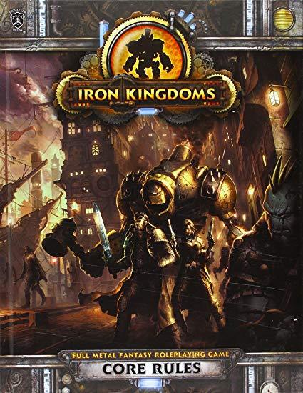 Donjon et dragon 3.5 les royaumes d'acier (steampunk)